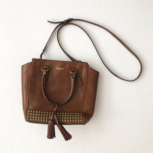 Coach Legacy Mini Tanner Studded Crossbody Bag